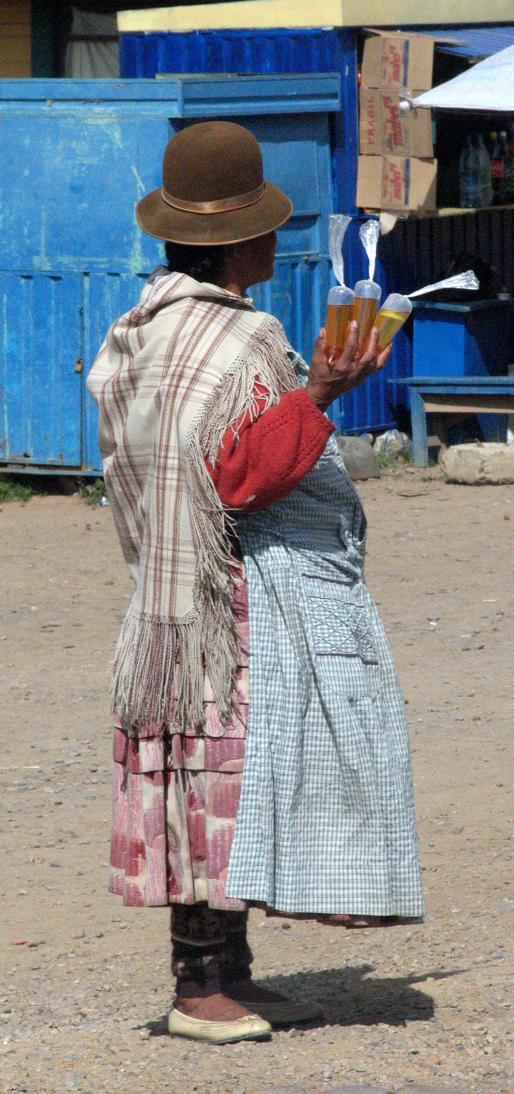 Woman in Bolivia Double-barrelled Travel