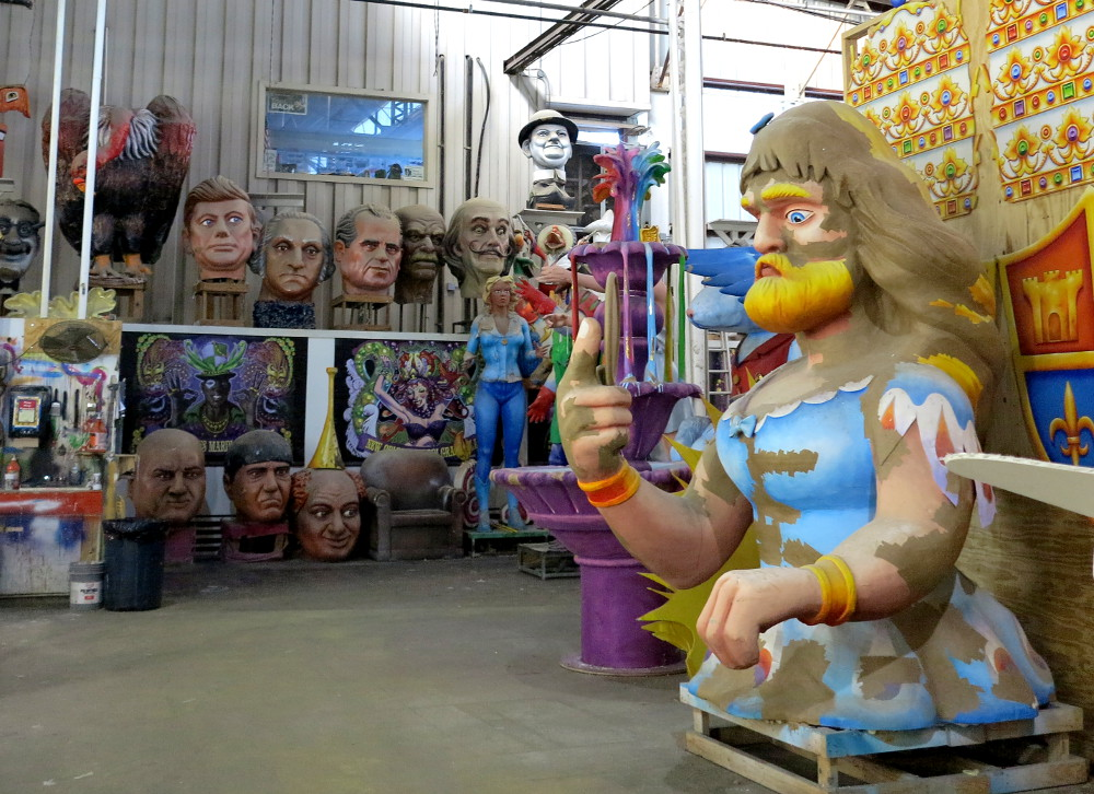 Workshop at Mardi Gras World New Orleans Double-Barrelled Travel