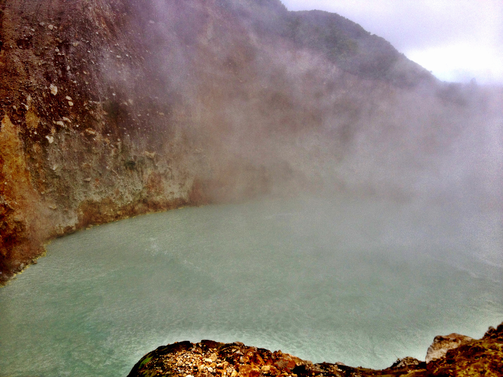 Boiling Lake Dominica Double-Barrelled Travel