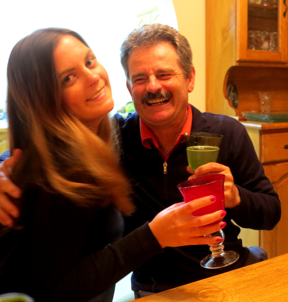 Carmen and Dad Double-Barrelled Travel