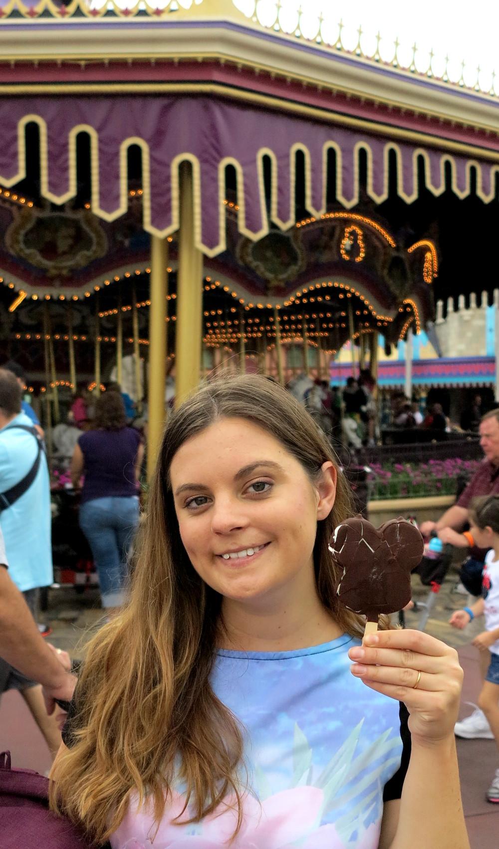 Disney ice cream Double-Barrelled Travel