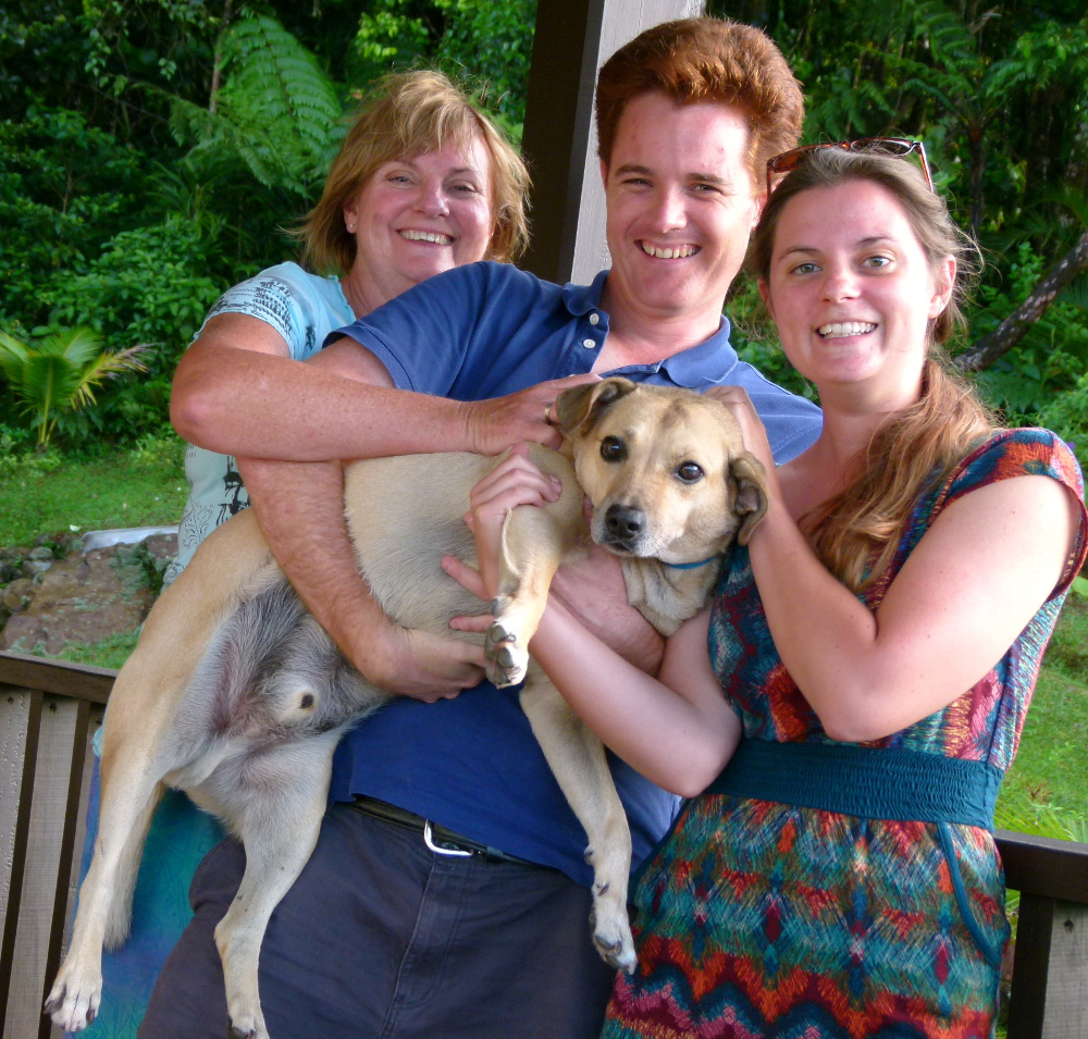 Family photo in Dominica Double-Barrelled Travel