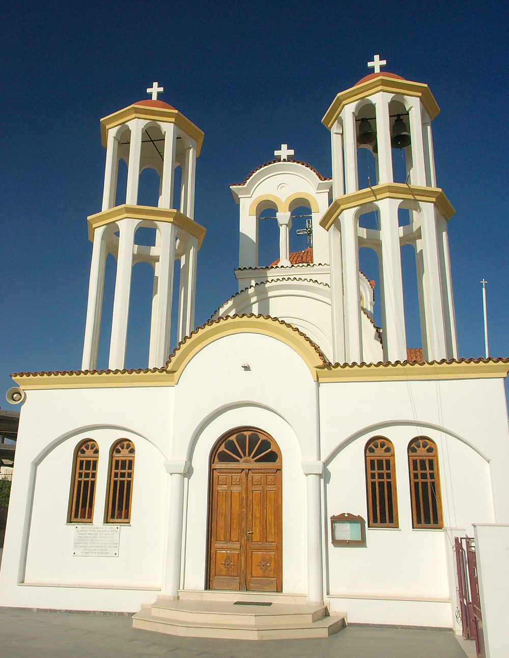 Greek Church white Double-Barrelled Travel