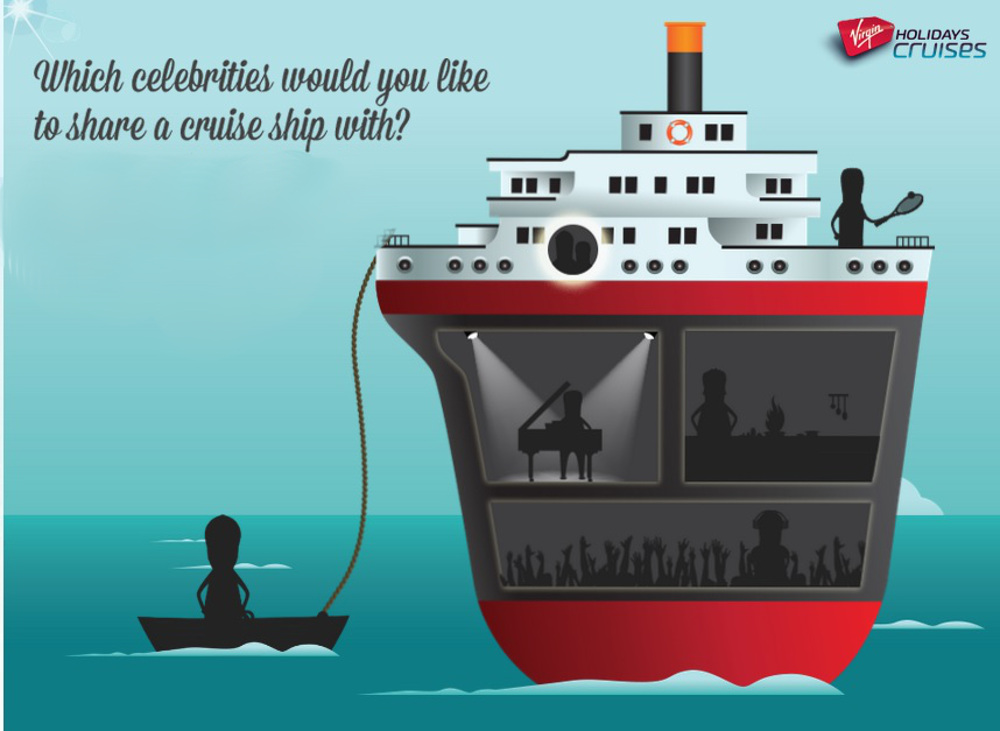 Infographic for Virgin Cruises
