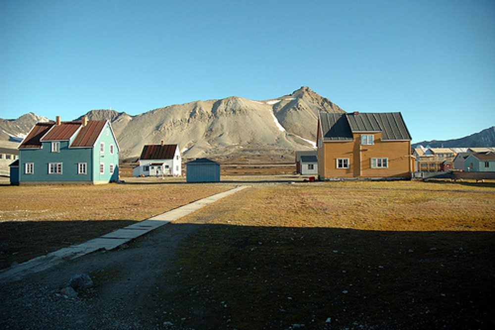 Longyearbyen Norway Double-Barrelled Travel