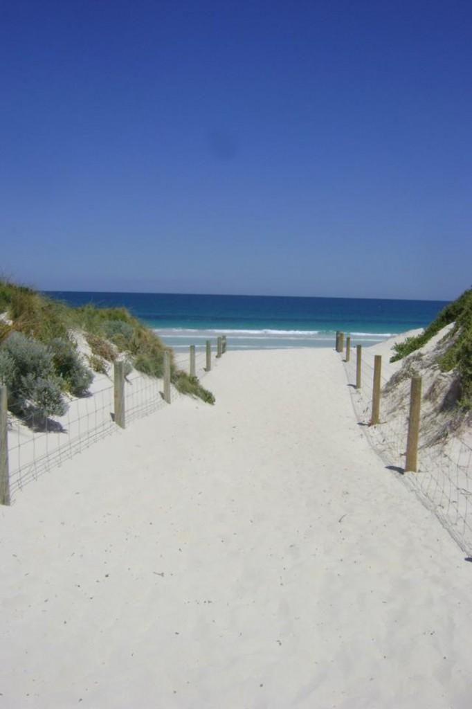 Perth WA Beach Double-Barrelled Travel