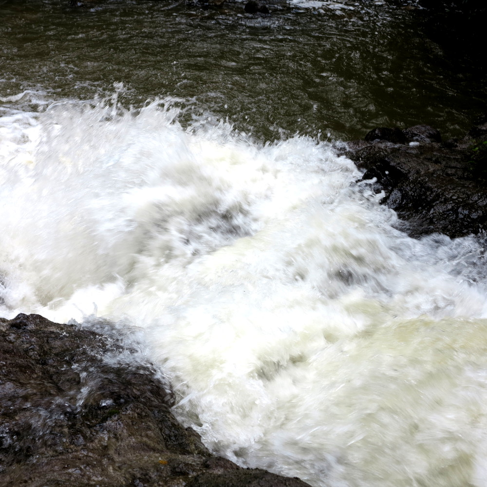 Rushing water Dominica Double-Barrelled Travel