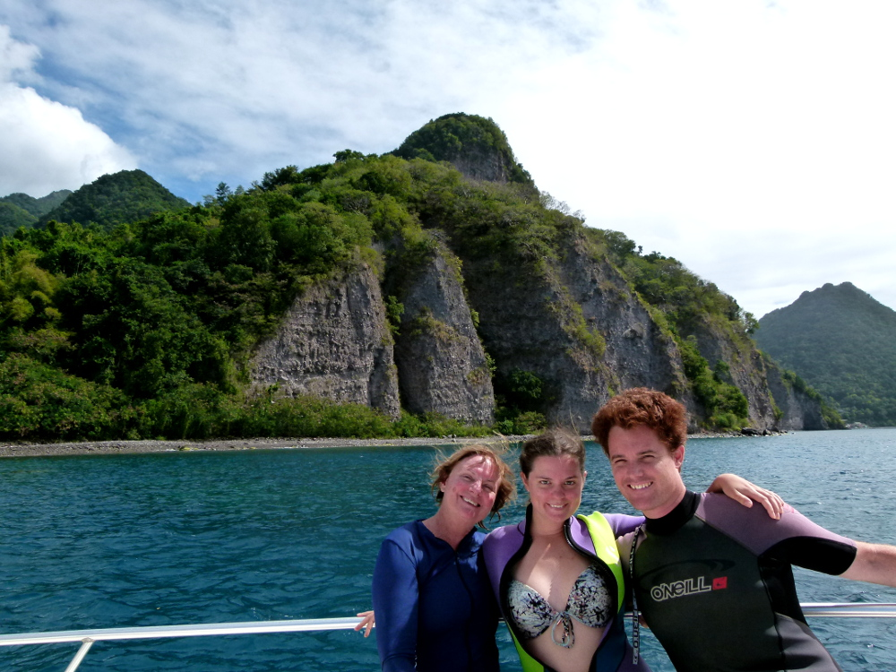 Scuba diving Dominica Double-Barrelled Travel
