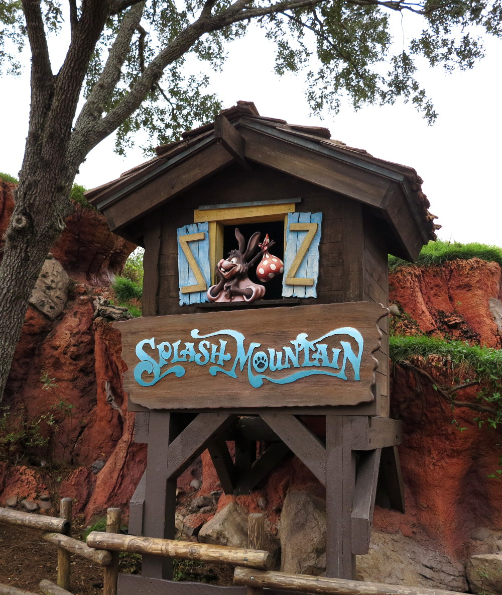 Splash Mountain at Disney World Double-Barrelled Travel