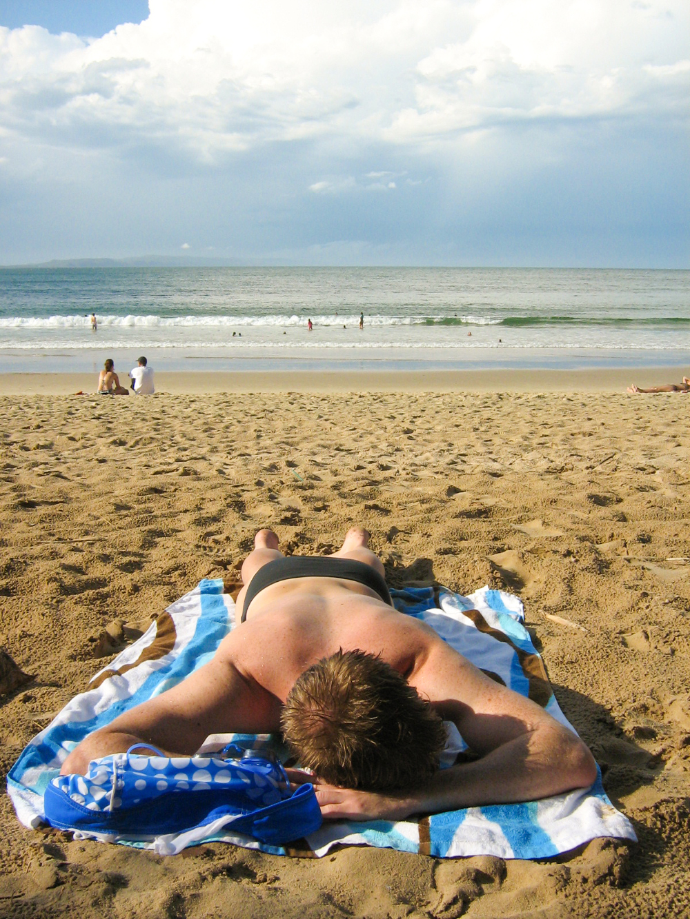 Towel at beach Double-Barrelled Travel