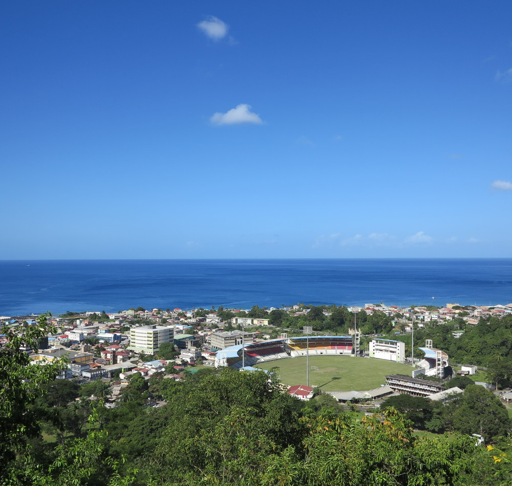 View overlooking Dominica Double-Barrelled Travel