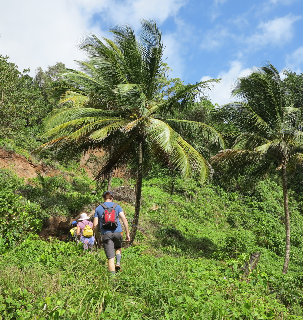 hiking to Kalinago territory Dominica Double-Barrlled Travel