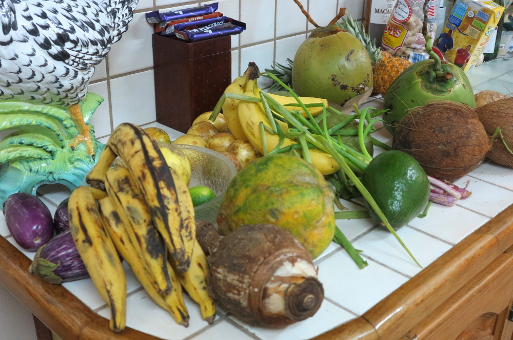 local fruit and veg Dominica Double-Barrelled Travel