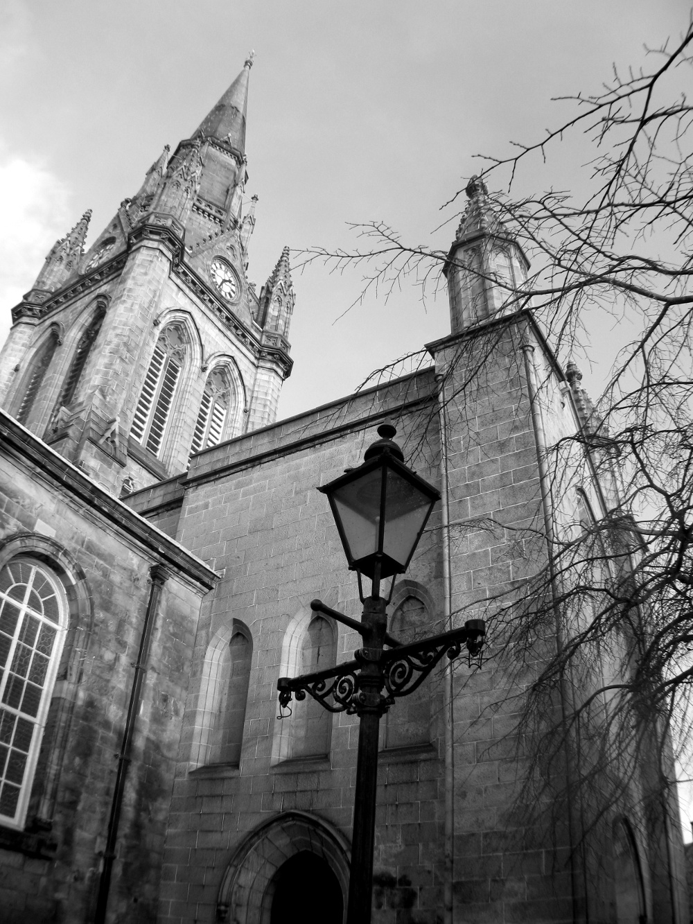 Aberdeen church Scotland Double-Barrelled Travel