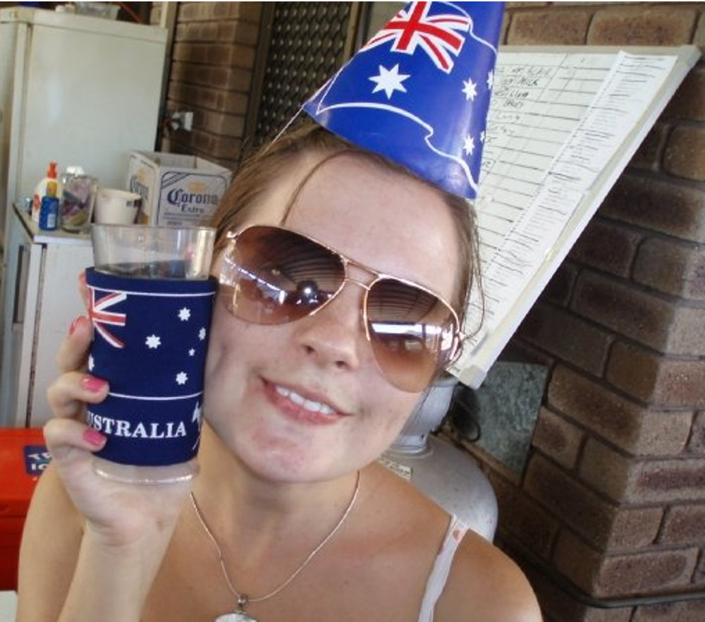 Australian patriotism Double-Barrelled Travel