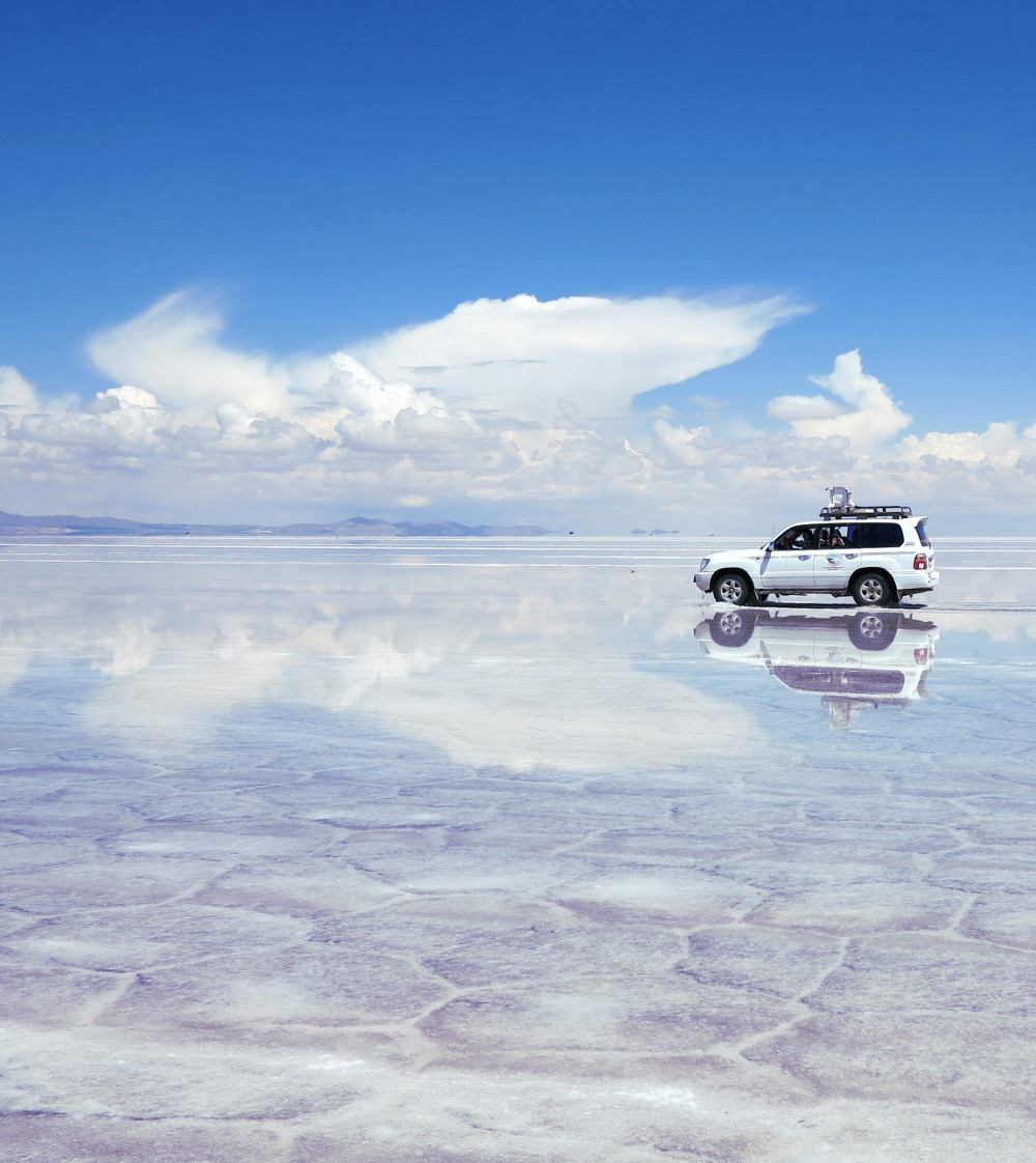 Carmen and Dave10 salt flats Bolivia Double-Barrelled Travel