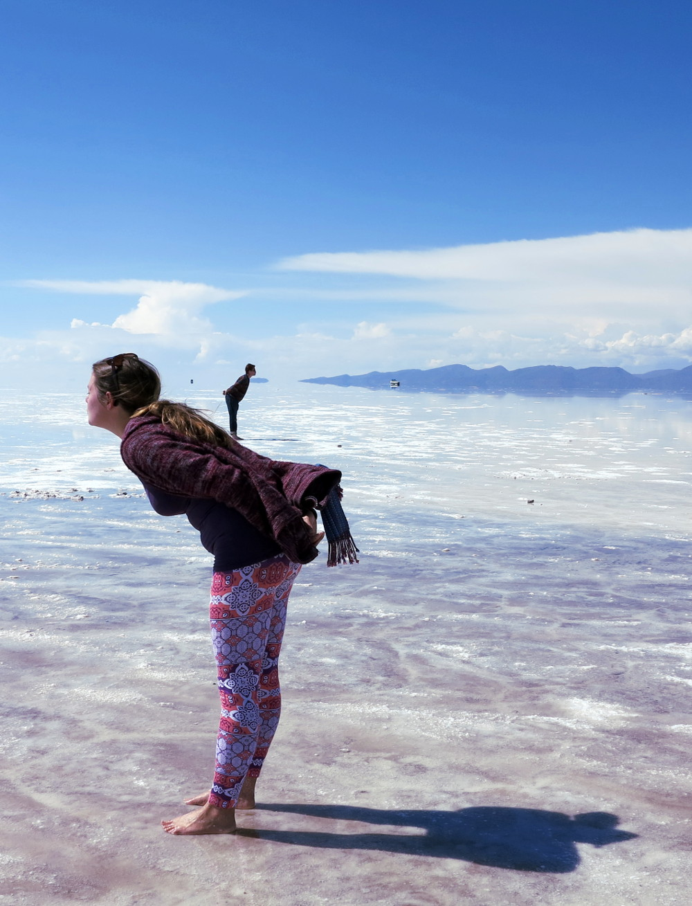 Carmen and Dave3 salt flats Bolivia Double-Barrelled Travel