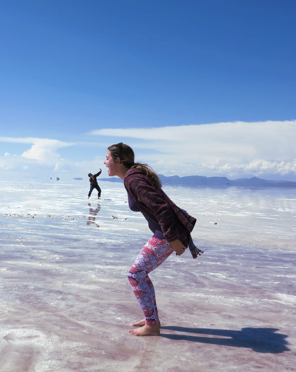 Carmen and Dave4 salt flats Bolivia Double-Barrelled Travel