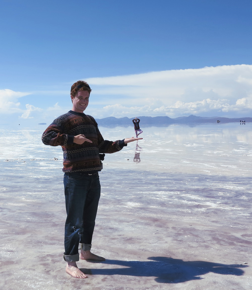 Carmen and Dave7 salt flats Bolivia Double-Barrelled Travel