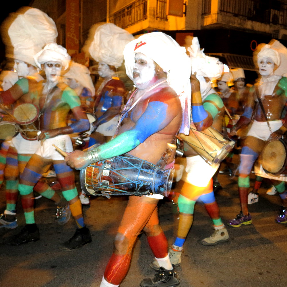 Carnivale on Guadeloupe Double-Barrelled Travel