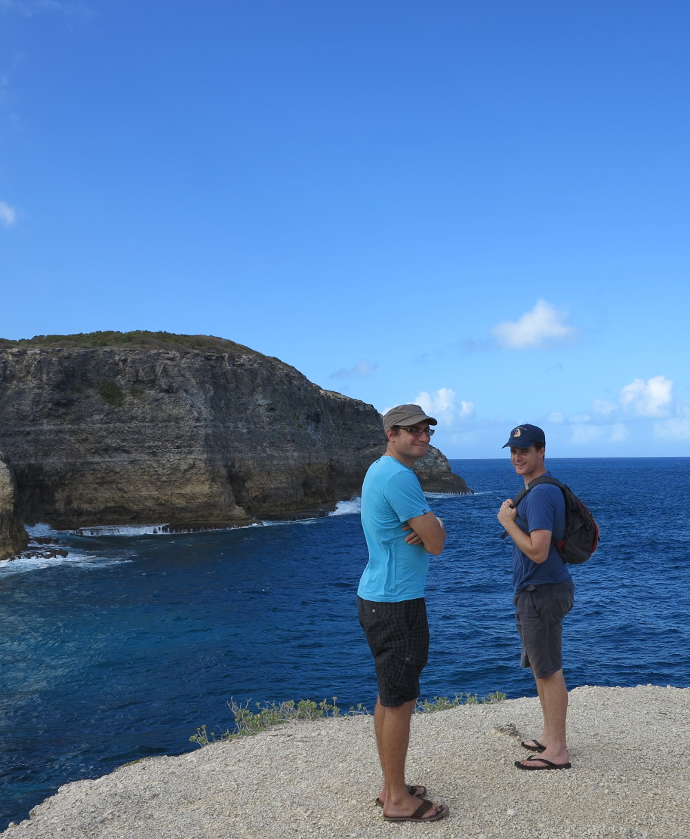 Dave and Renaud Le Moule Guadeloupe Double-Barrelled Travel