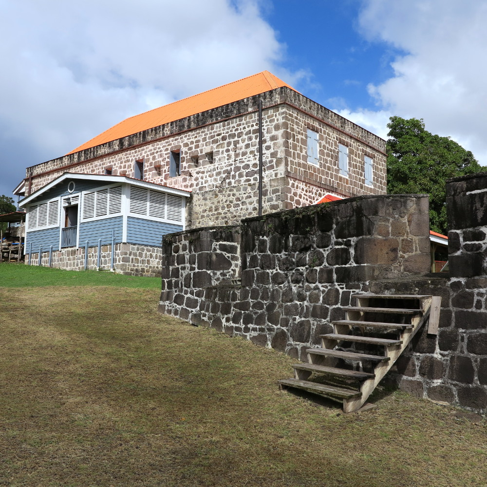 Function room at Fort Shirley Double-Barrelled Travel