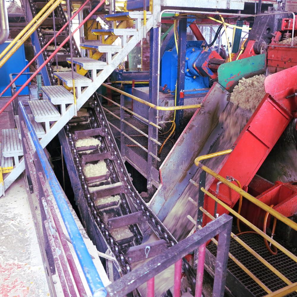 Inside the Damoiseau distillery Guadeloupe Double-Barrelled Travel