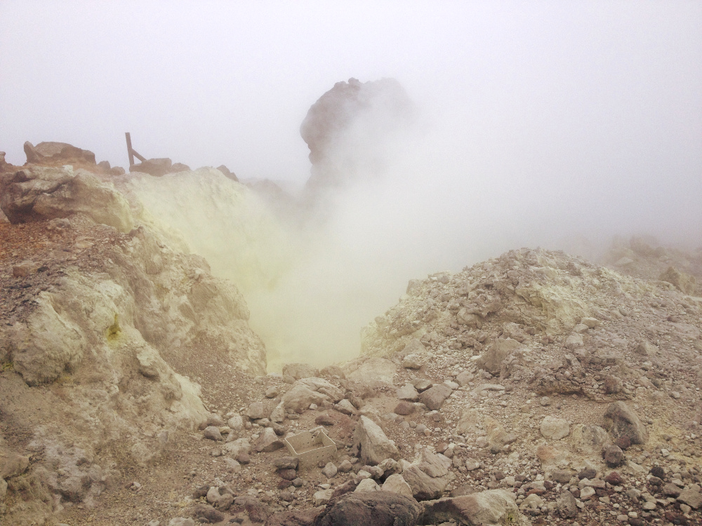 La Soufriere volcano Guadeloupe Double-Barrelled Travel