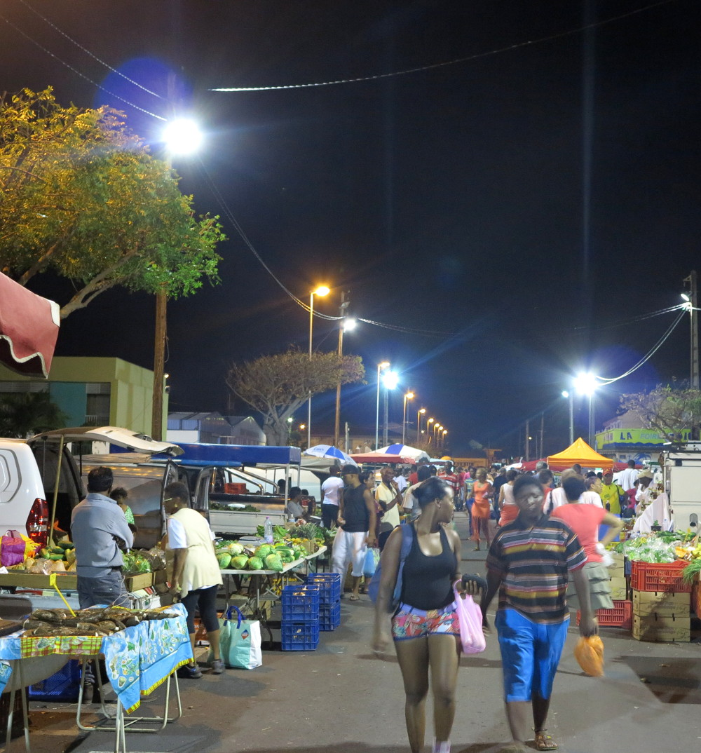 Le Moule night market Guadeloupe Double-Barrelled Travel