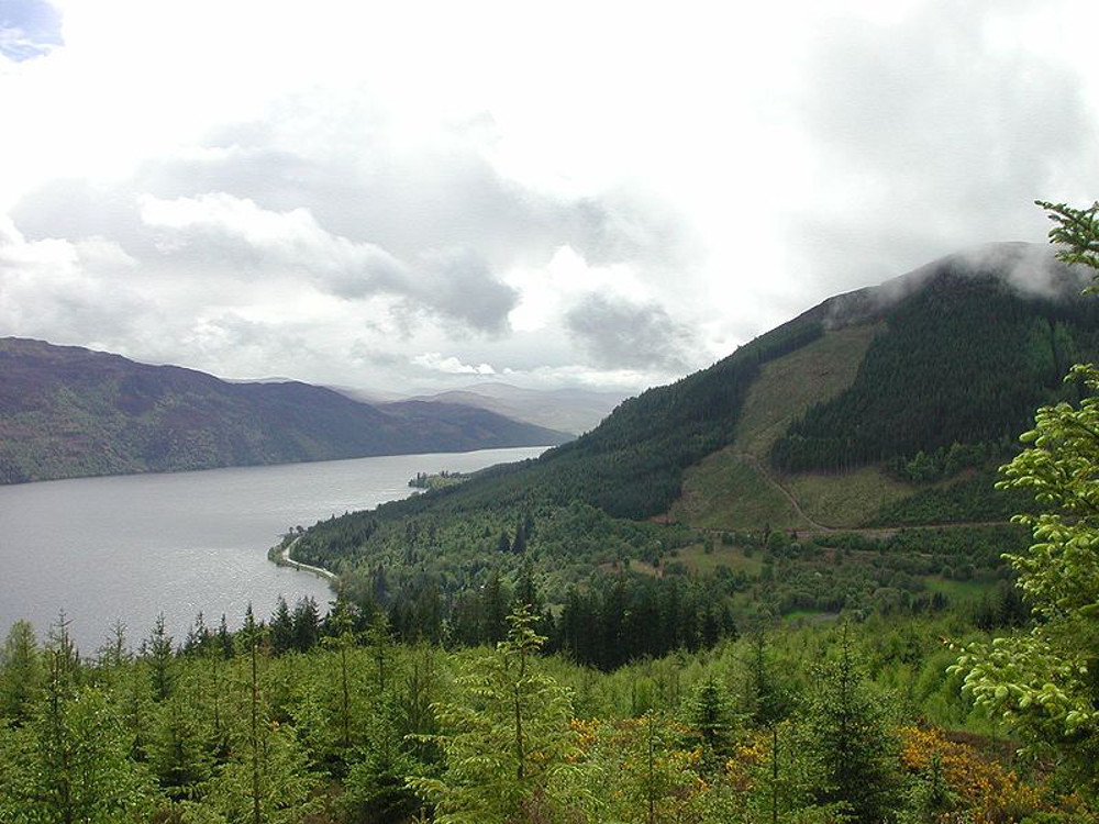 Loch Ness Scotland Double-Barrelled Travel