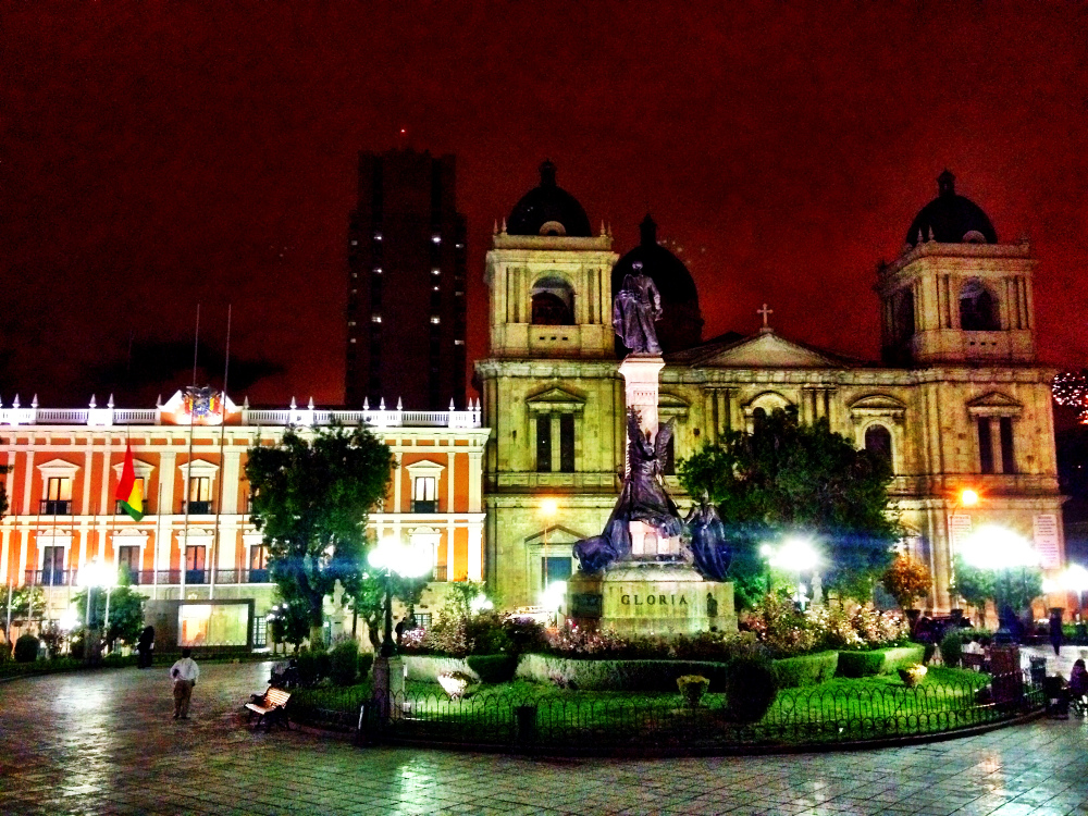 Main square La Paz Bolivia Double-Barrelled Travel