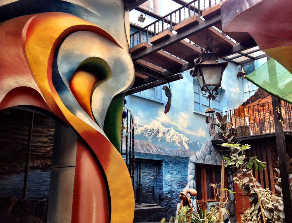 Namas Te restaurant La Paz Bolivia Double-Barrelled Travel