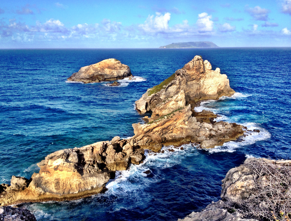 Pointe des chateaux Guadeloupe Double-Barrelled Travel