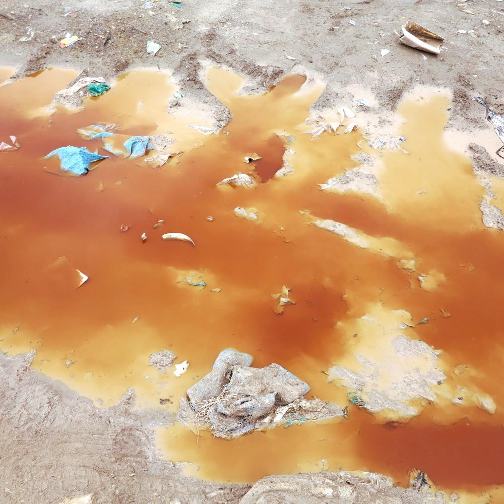 Potosi mining sludge Bolivia Double-Barrelled Travel