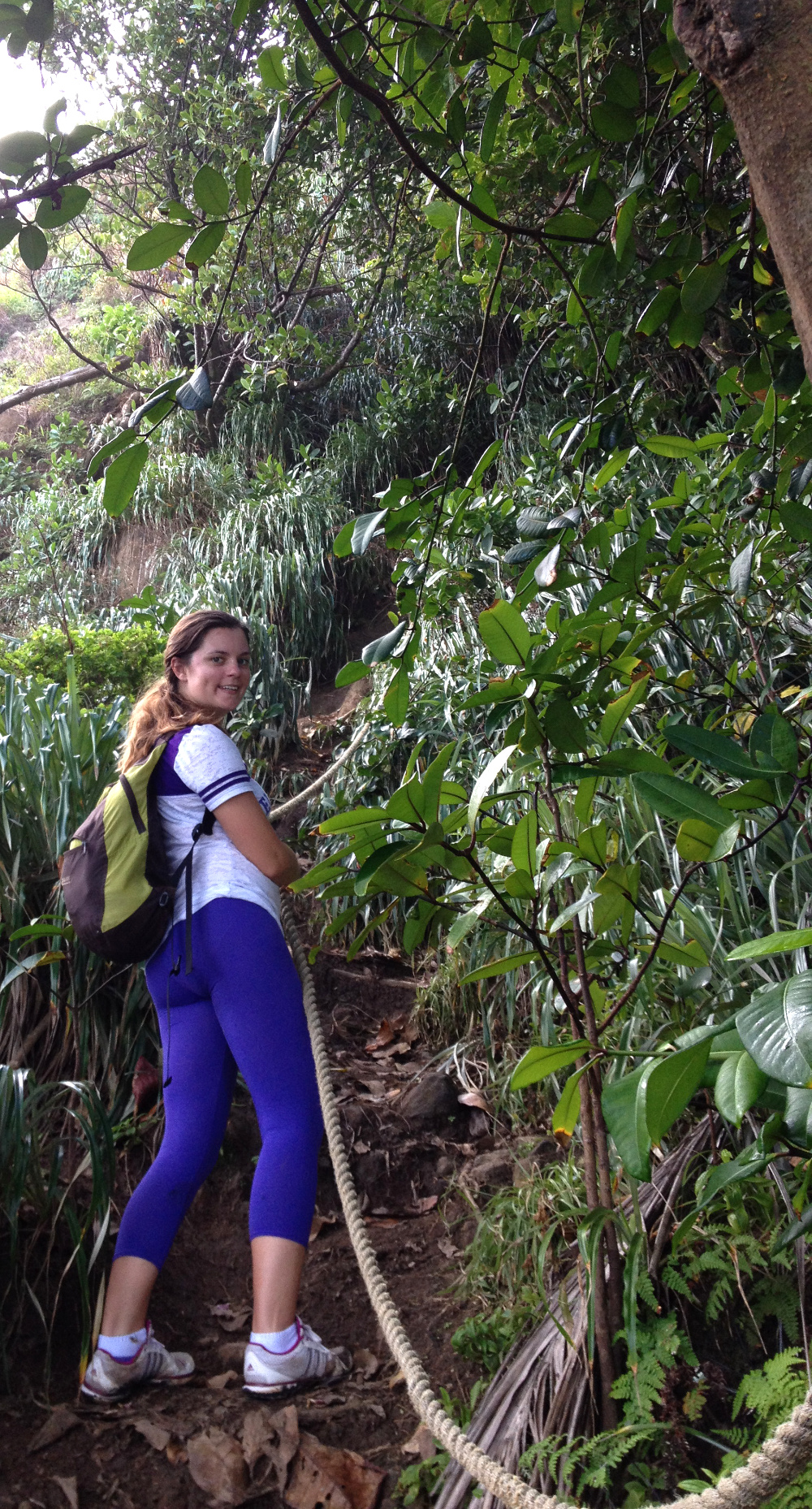 Scaling the wall Wavine Cyrique Dominica Double-Barrelled Travel