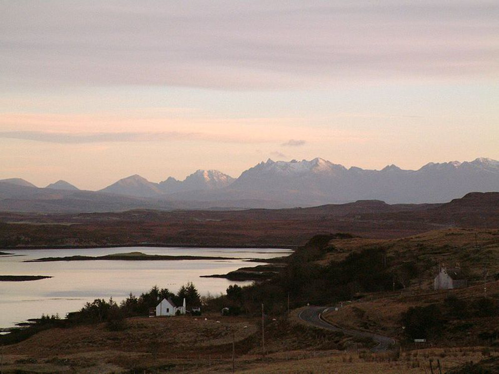 The Cuillin mountains isle of skye Scotland Double-Barrelled Travel