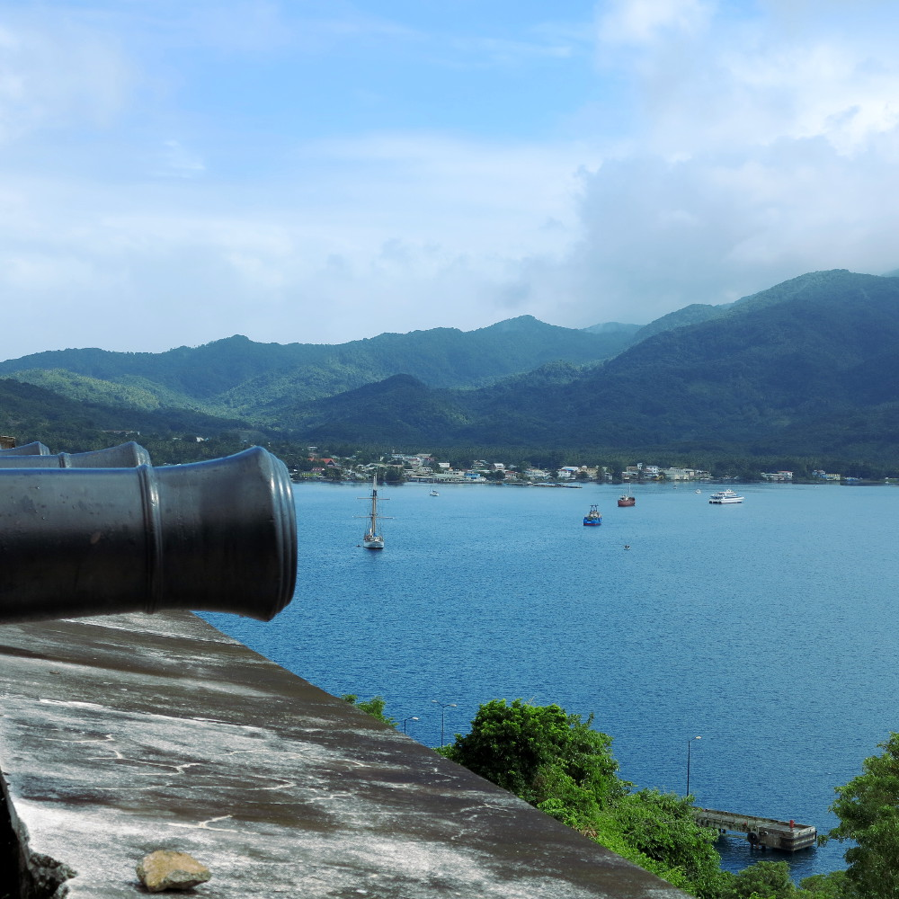 View from Fort Shirley Double-Barrelled Travel