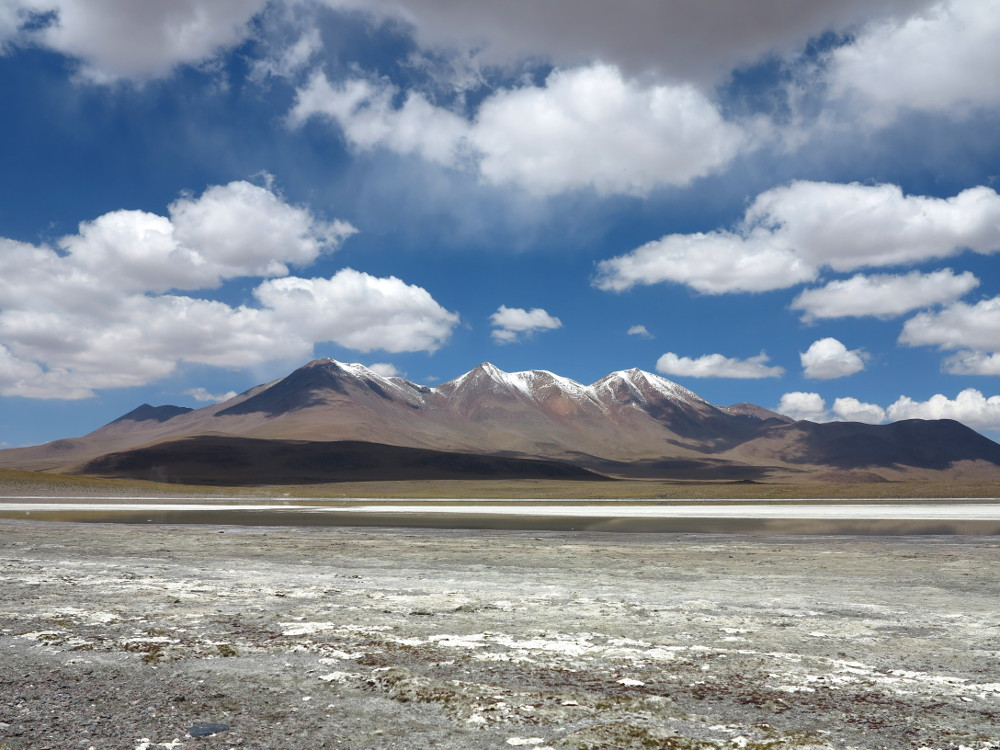 volcano landscape in Bolivia Double-Barrelled Travel