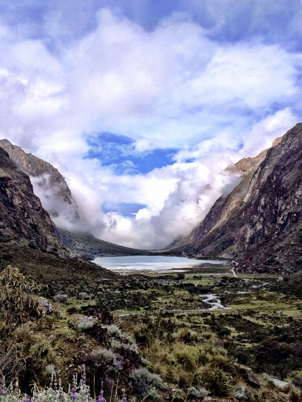 Beautiful hiking near Huaraz was a firm highlight during our travels in March