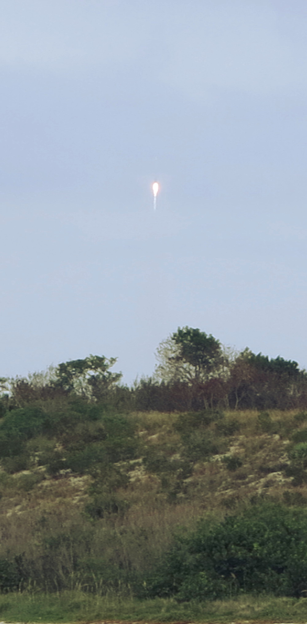 Maven rocket lauches into the air at NASA