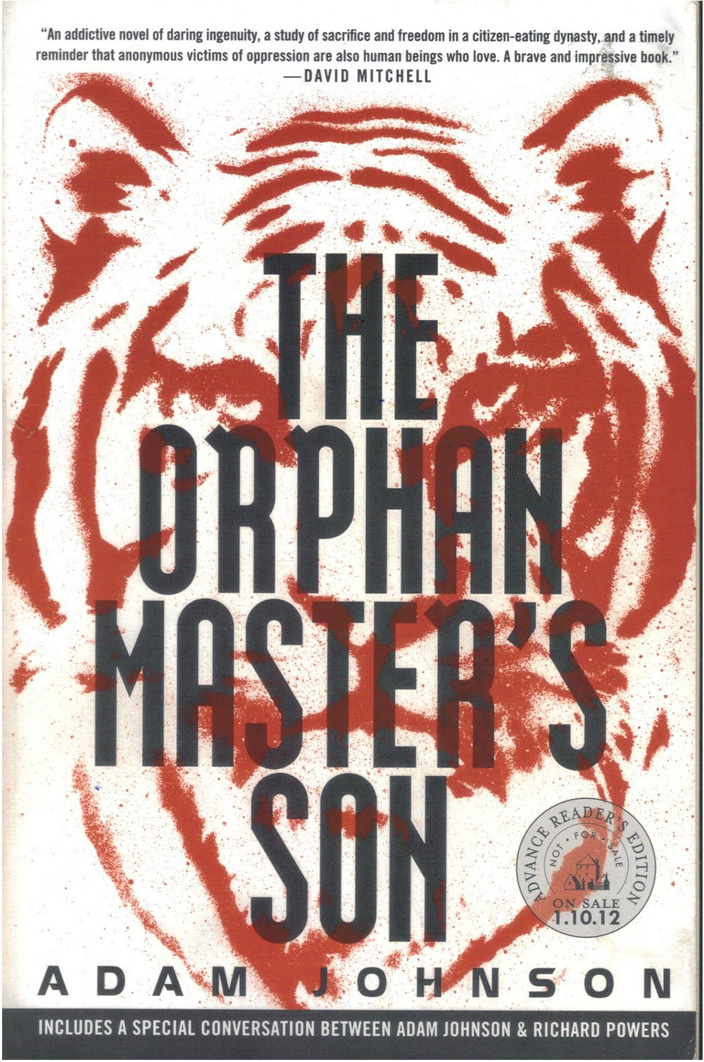 The Orphan Masters son by Adam Johnson Double-Barrelled Travel