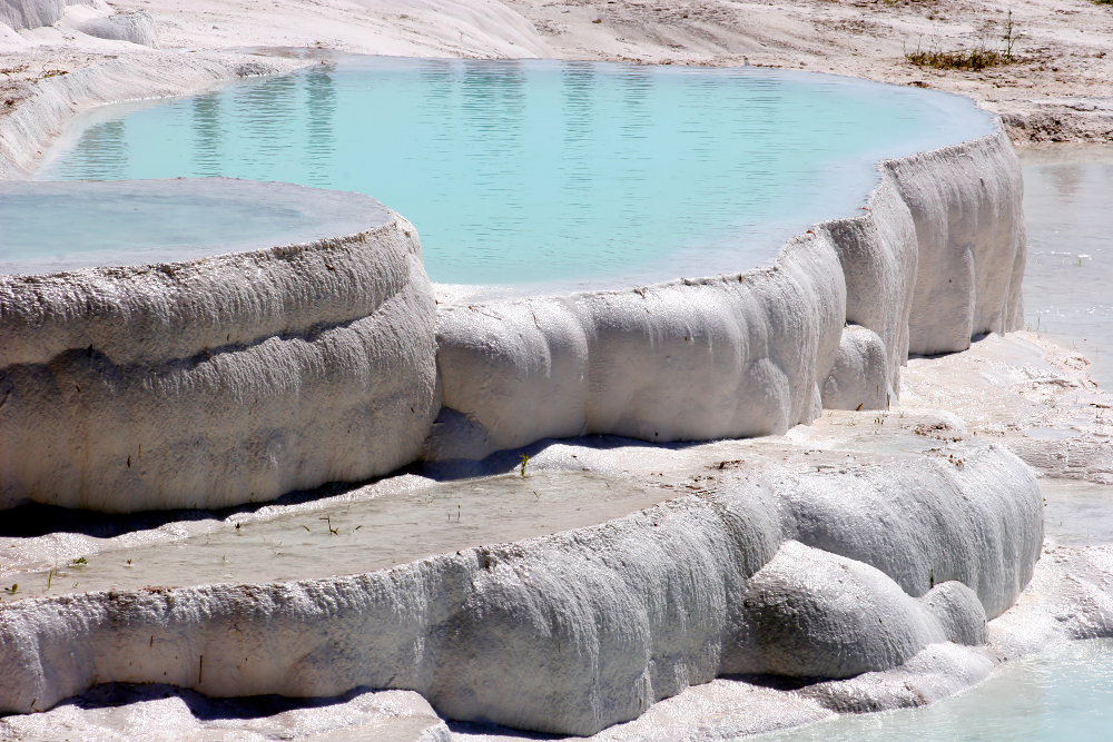 Thermal pools Double-Barrelled travel