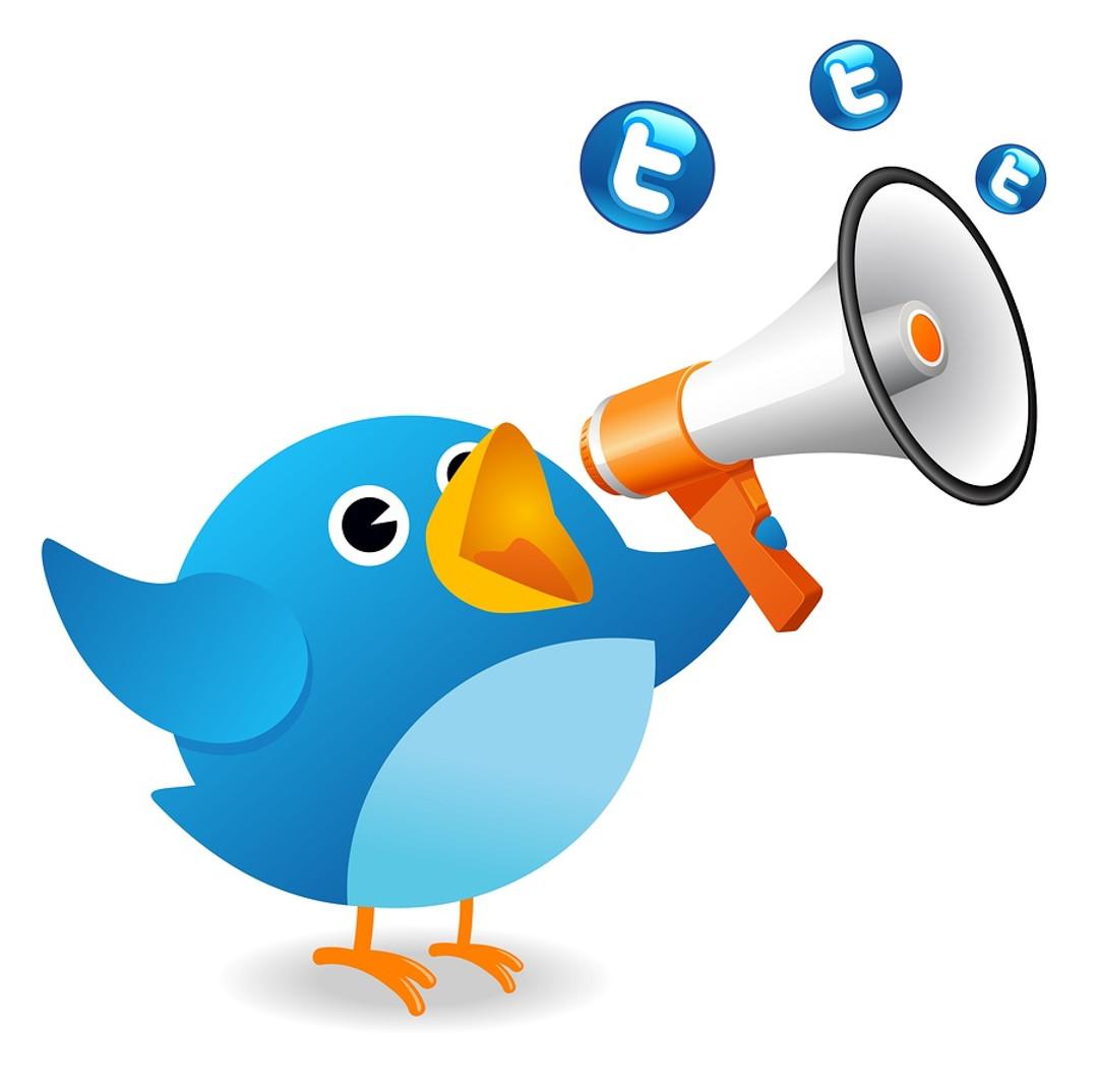 Twitter bird talking Red Platypus