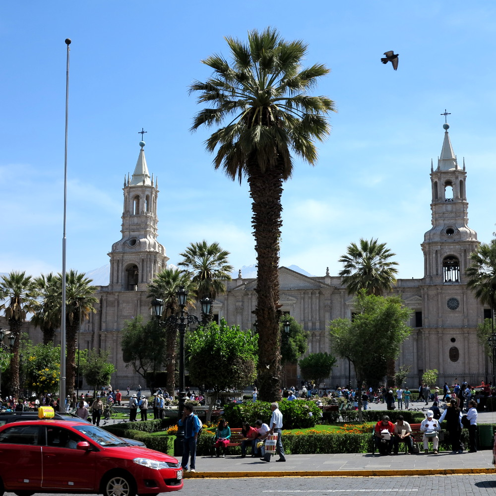 Arequipa main square Double-Barrelled Travel