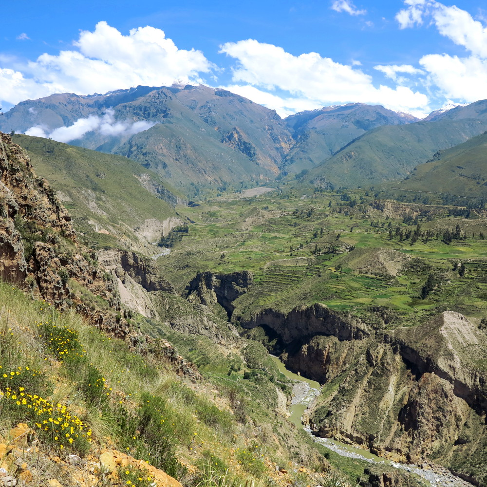 Colca Canyon Peru Double-Barrelled Travel