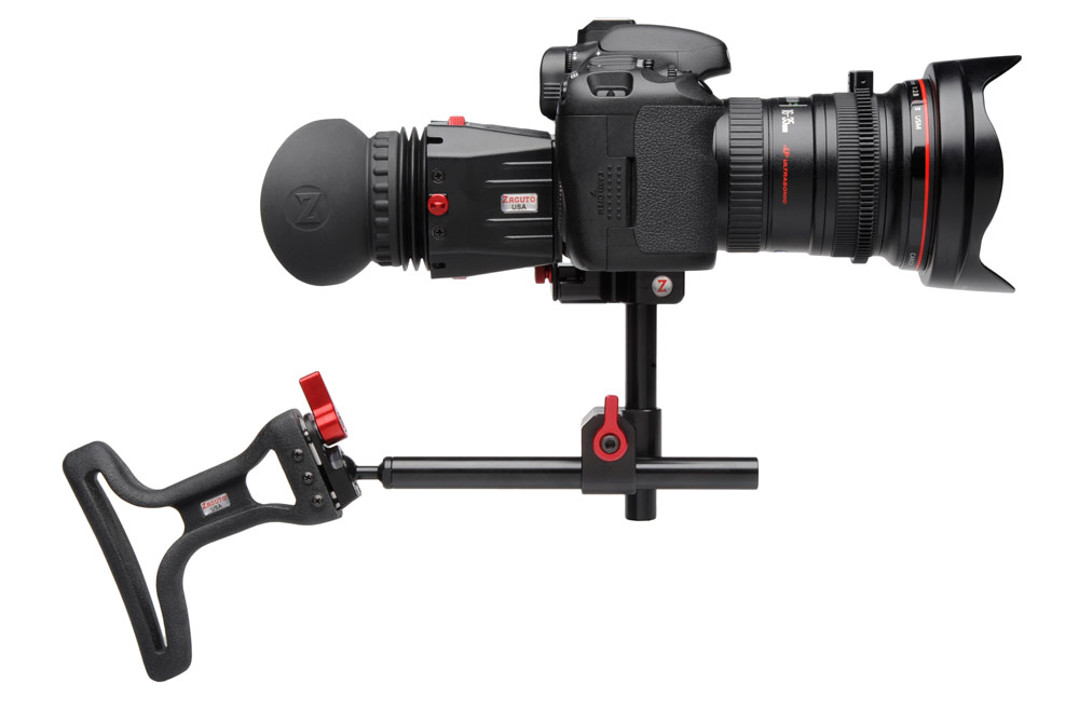 HD video camera shoulder holder for steady filming Red Platypus