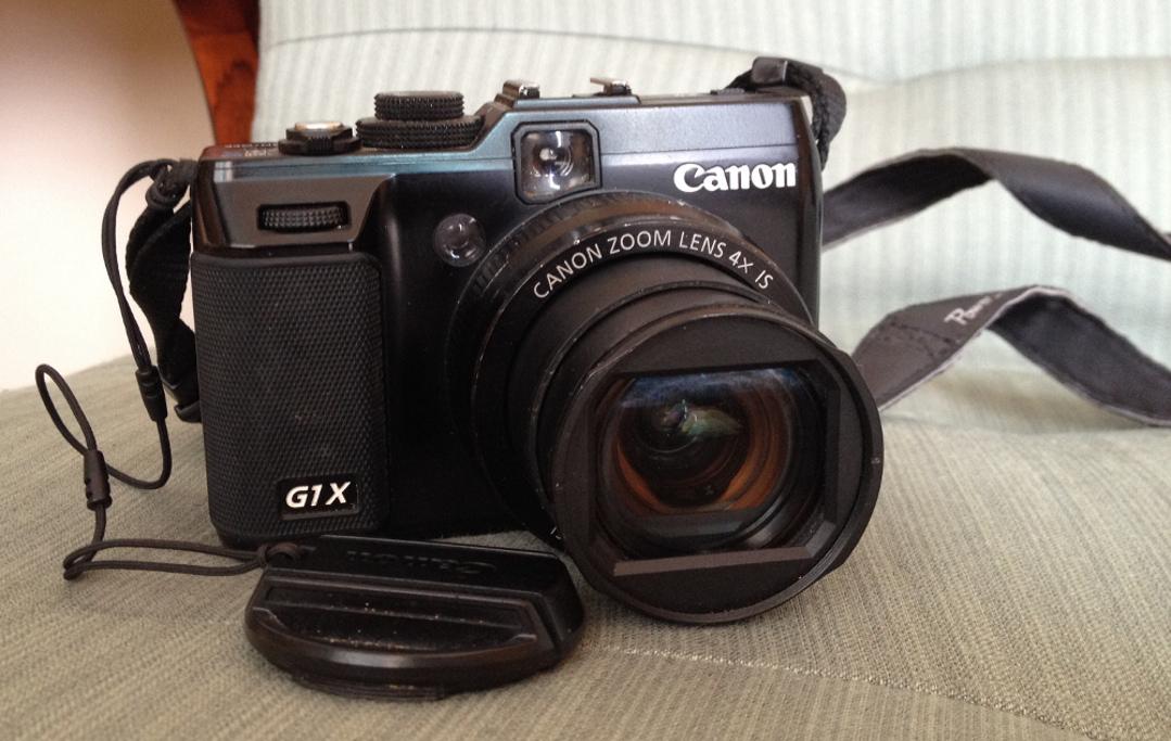 HD video camera small Canon G1x Red Platypus