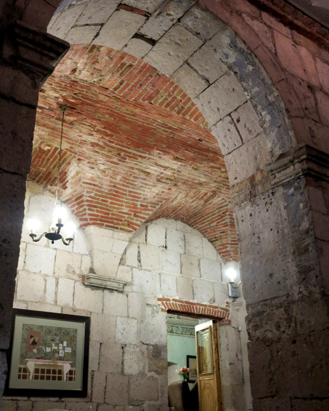 Architecture Paladar 1900 Arequipa Double-Barrelled Travel