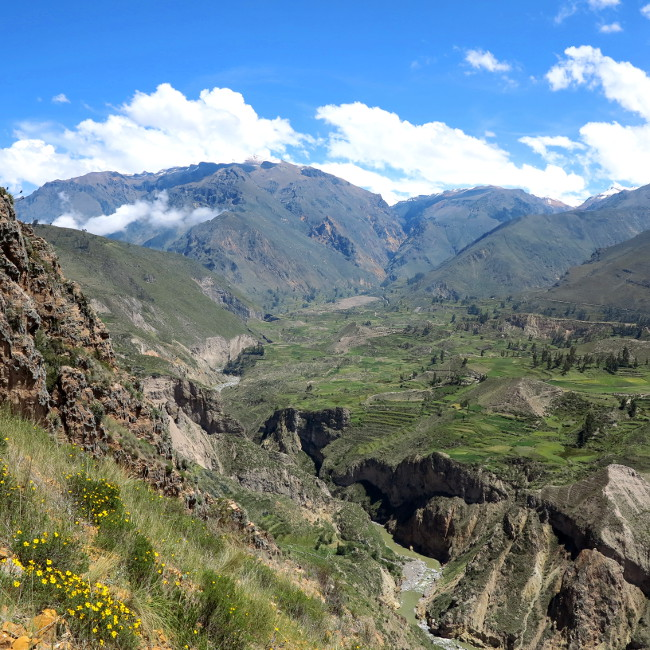 Beginning of the Colca Canyon Peru Double-Barrelled Travel