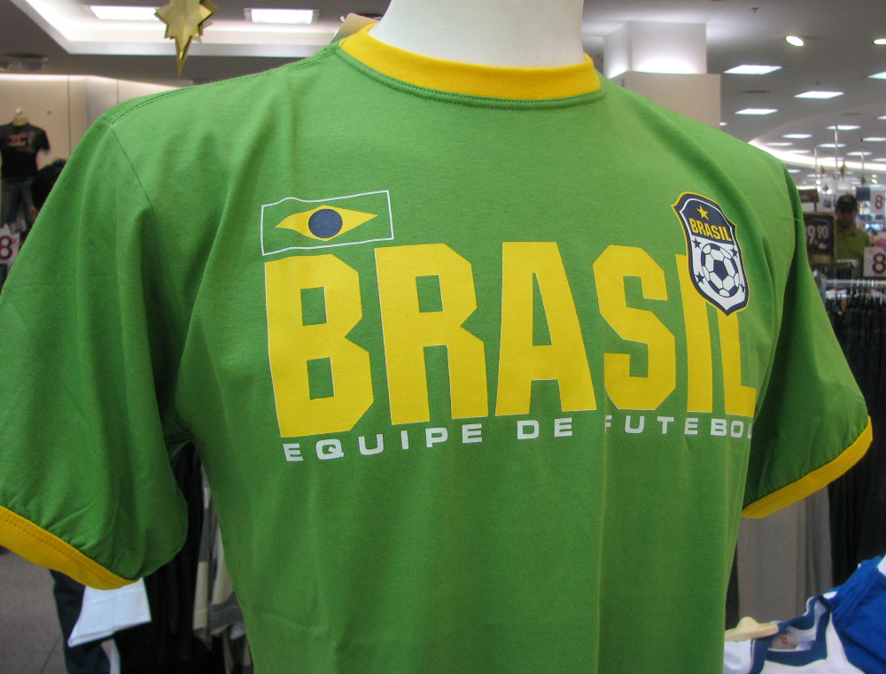 Brazil World Cup t shirt Double-Barrelled Travel